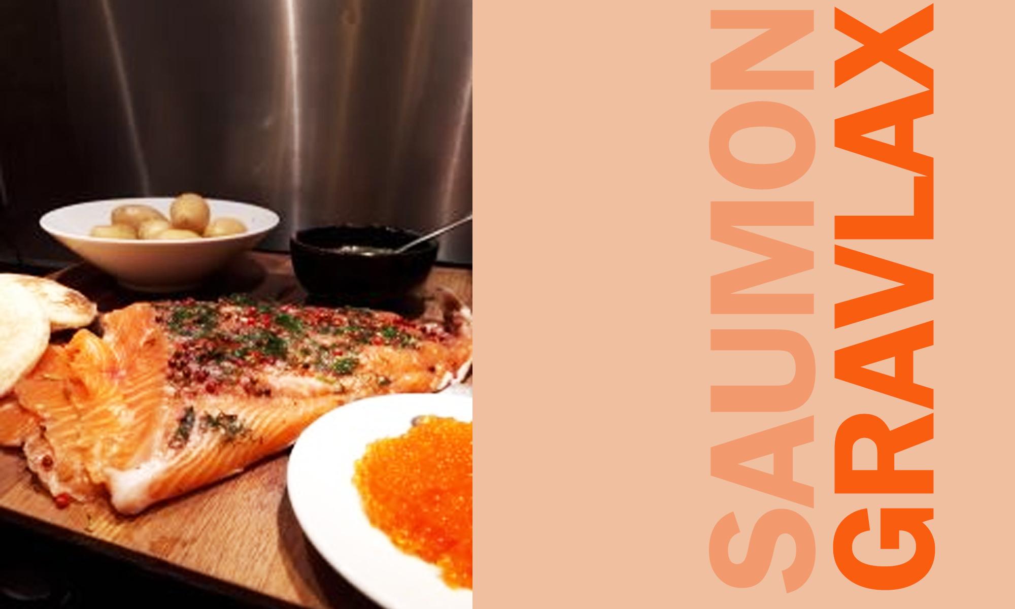 illustration saumon gravlax